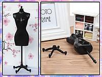 Манекен для кукольной одежды (чёрный), фото 1
