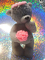 Мыло ручной работы медвежонок натуральное