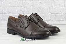 Чоловічі туфлі броги 42р, фото 3