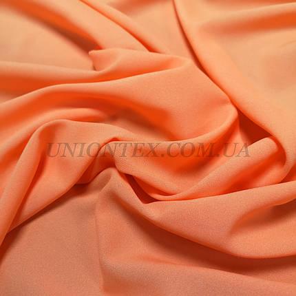 Ткань креп-шифон оранжевый, фото 2