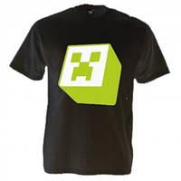 Майка-футболка принт MINECKRAFT, с майнкрафт