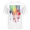 Футболка Цветная зебра