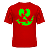 Футболка Смайлик зеленый
