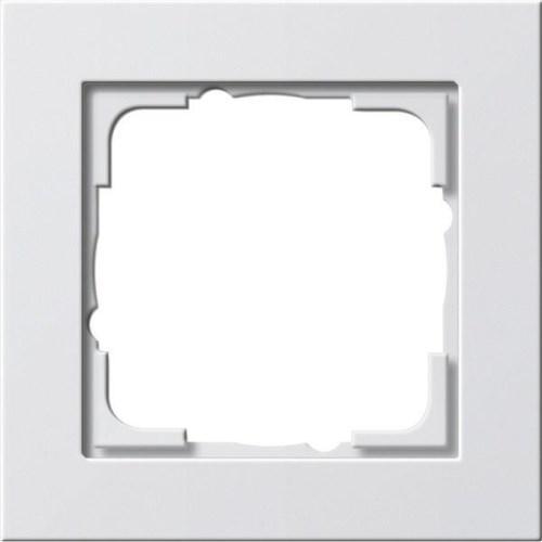 Рамка 1-пост. GIRA E2 белый глянцевый