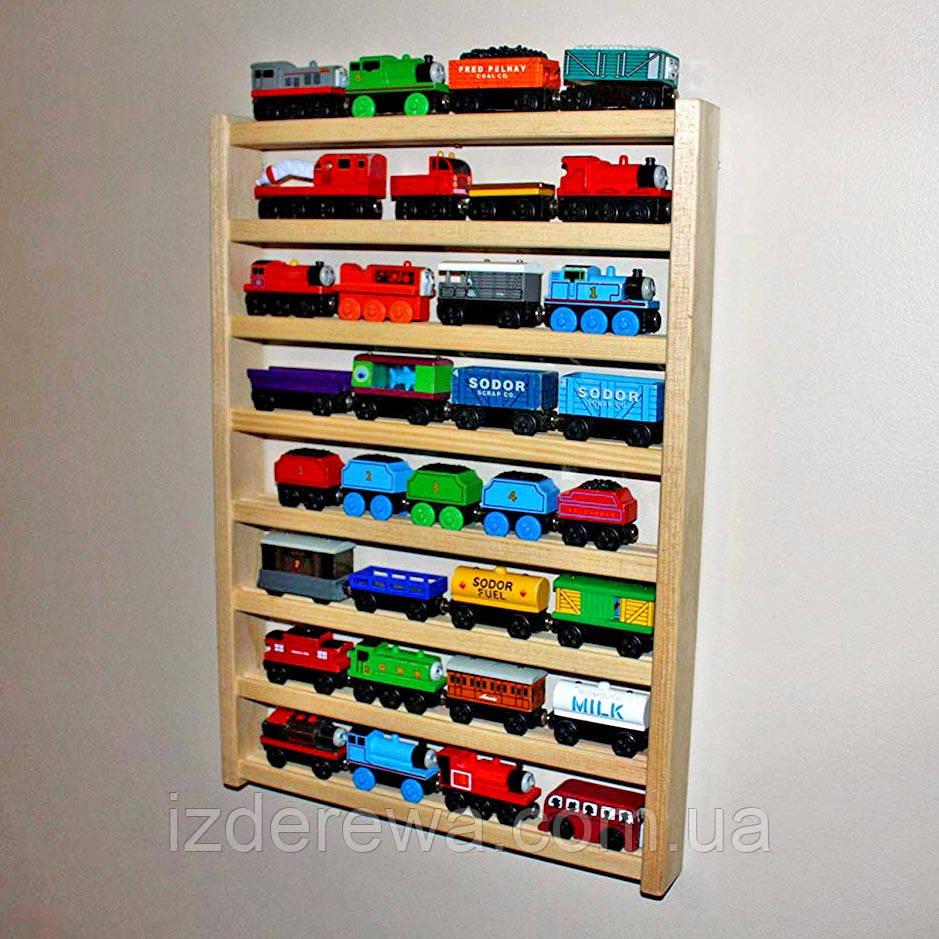 """Стеллаж для игрушечных машинок """"Фиат"""" бланже"""