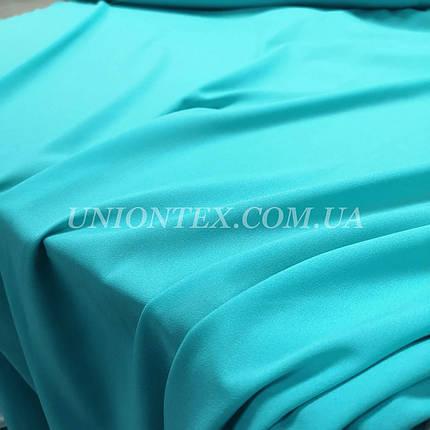 Ткань креп-шифон голубая мята, фото 2