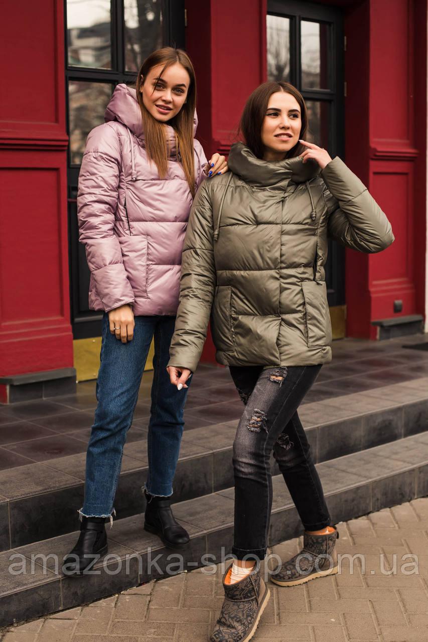 Модная женская куртка сезона весна 2020 - (кт-074)