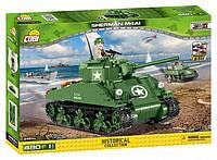 Конструктор COBI Американский танк Sherman M4A1 (Made in EU)