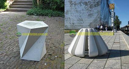 Изготовление декоративных изделий из бетона под заказ для садового и уличного благоустройства по чертежам.