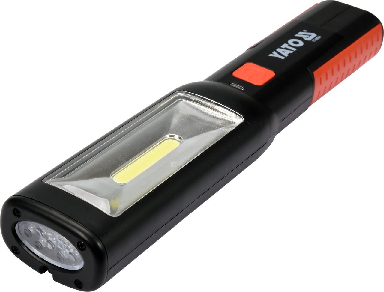 Переносной светодиодный фонарь YATO