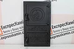 Дверцы печные без стекла «FIONA» 300х515