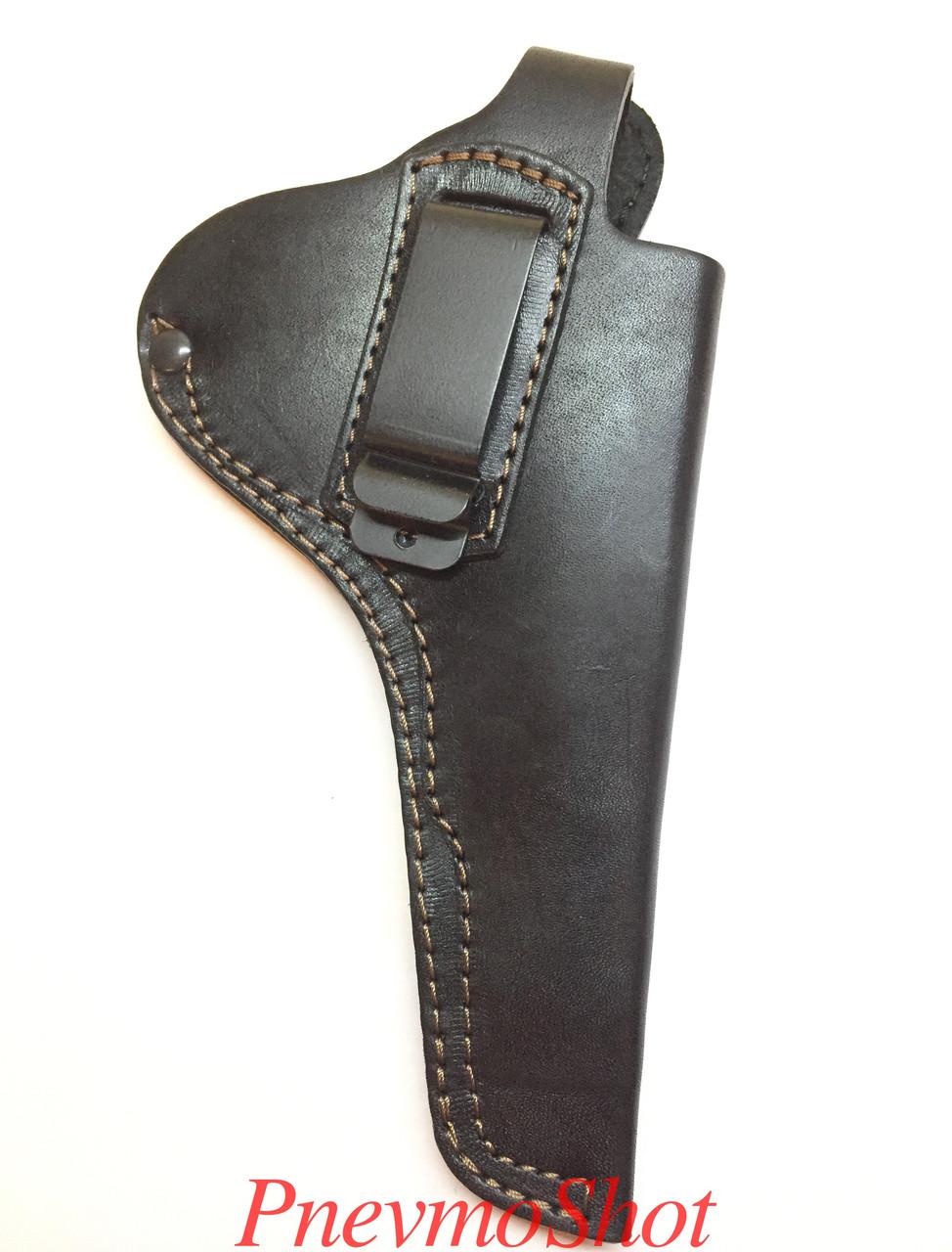 Кобура поясная скоба для револьвера Наган,Блеф,Гром,МР-313.