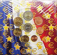 Франція 2003. Офіційний річний набір монет