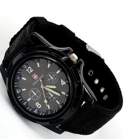 Армейские часы Swiss Army, мужские часы, часы military, военные часы, фото 2