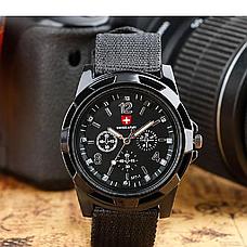 Армейские часы Swiss Army, мужские часы, часы military, военные часы, фото 3