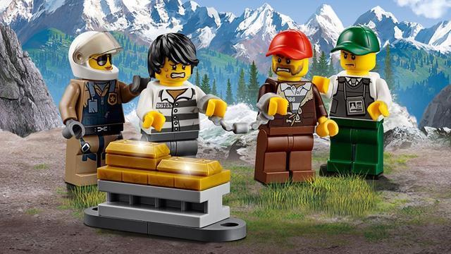 Купити Лего 60175 Пограбування у гірської річки, City.