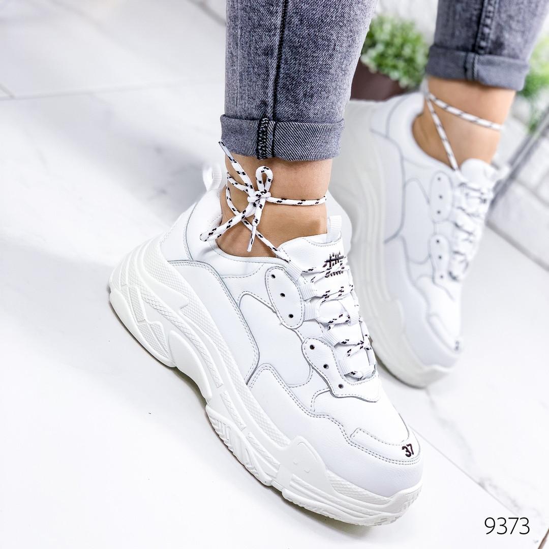 Кроссовки женские стильные реплика Balenciaga Баленсиага  белые