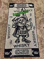 Полотенце махровое Виски клуб размер сауна 81х160 см