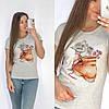Универсальная футболка женская 42-48 (в расцветках), фото 6