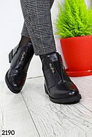 Демисезонные женские ботинки ЭкоКожа с напылением