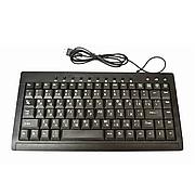 Клавиатура мини проводная USB 838 Black, клавиатура для компьютера, маленькая клавиатура