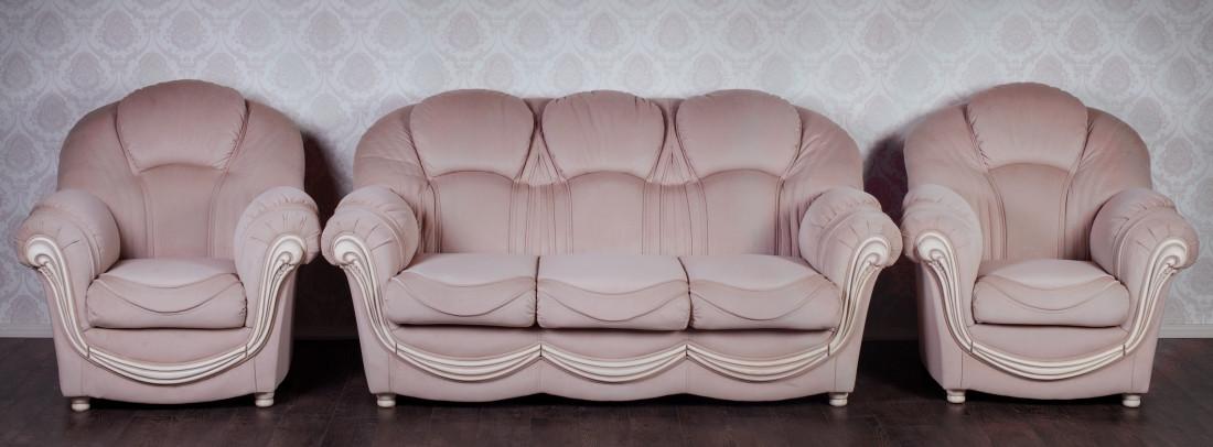 Комплект мягкой мебели Мальта Курьер ткань