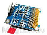 """Дисплей OLED 0.96"""" I2C 128х64 голубого свечения Arduino ESP STM STM32 - модуль, фото 4"""