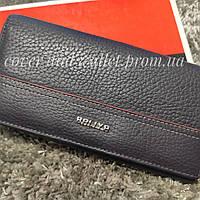 Фіолетовий шкіряний жіночий гаманець Baliya