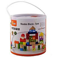 Конструктор Viga Toys Ферма 50 шт (50285)