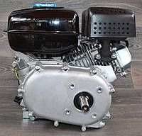 Двигатель бензиновый с понижающим редуктором и сцеплением BIZON 170С 7.5 л.с. вал 20 мм под шпонку, фото 1