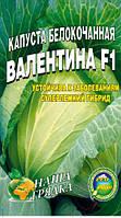 Капуста Валентина урожайная пакет  5 грамм семян
