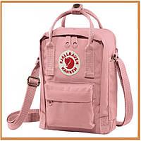 Городской прогулочный рюкзак Kanken Fjallraven Kanken 16L Rosa bebé (канкен, розовый) женский