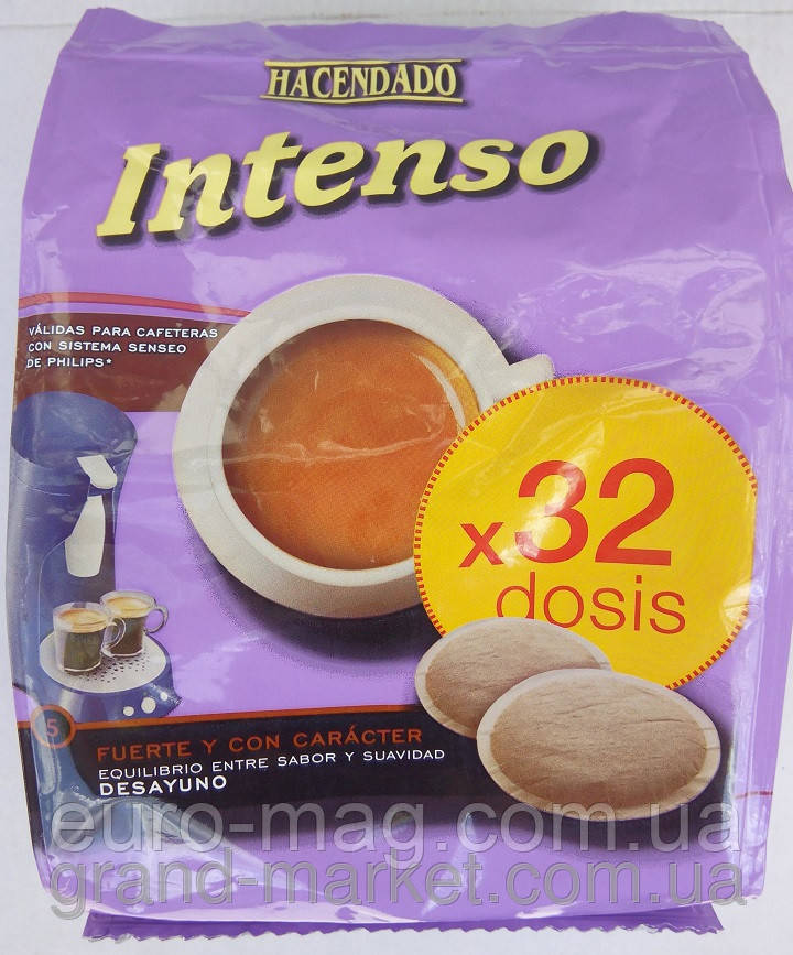Кофе для Philips Senseo Intenso- 32 монодозы