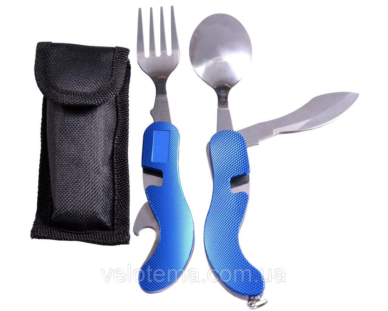 Нож Многофункциональный  (Синий)