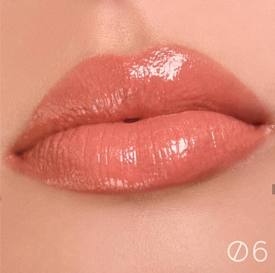 Блиск для губ з вологим фінішем Relouis Paradiso - 06 Relax On Monday