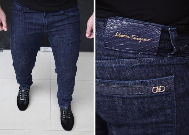 Мужские джинсы Salvatore Ferragamo