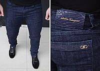Мужские джинсы Salvatore Ferragamo H0255 синие