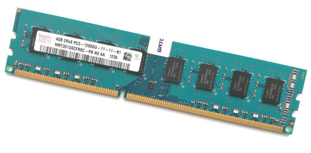 Оперативная Память DDR3 на 4GB PC 12800 1600 Mhz HYNIX Б/У память ОЗУ ( Модуль ddr 3 4 Gb)