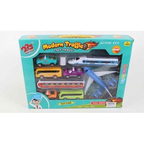 Игрушка для мальчиков 225-7703 набор техники