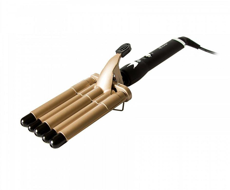 Плойка для волос на 5 волн Pro Mozer Mz-6619-5, щипцы для завивки и объёма