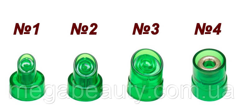 Сменные насадки к аппарату гидропилинга «AquaFacial» 7-в-1 мод. 254