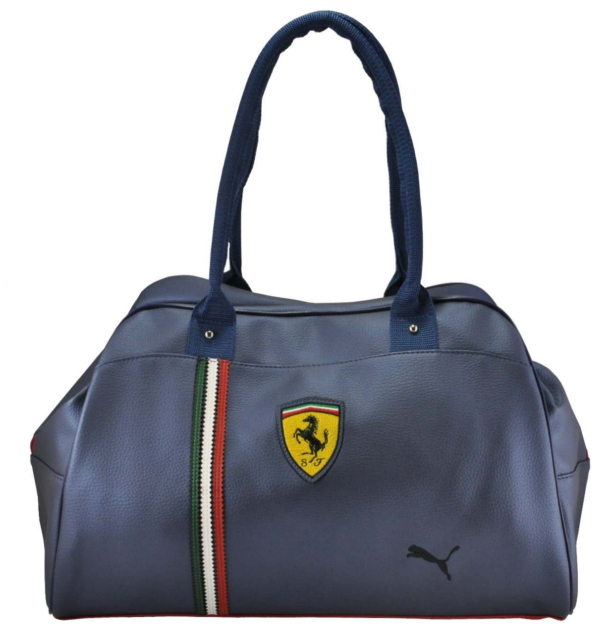 Спортивная сумка Puma Ferrari трансформер синяя реплика - Интернет магазин