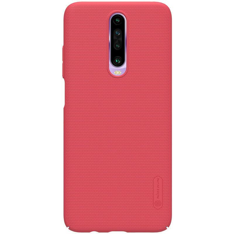 Nillkin Xiaomi Redmi K30 Super Frosted Shield Red Чехол Накладка Бампер