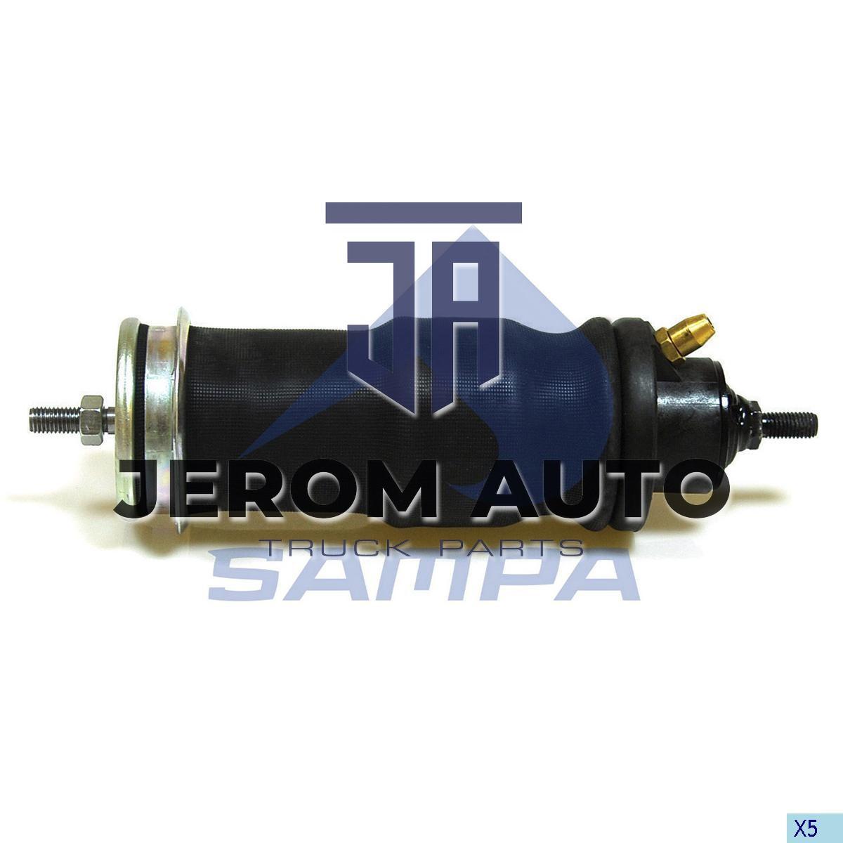 Амортизатор кабины с пневморесс. SCANIA (M12x1,75/M12x1,75) \1435859+1476415 \ 040.176