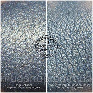 Пігмент для макіяжу KLEPACH.PRO -70 - Зелений сапфір (пил), фото 2