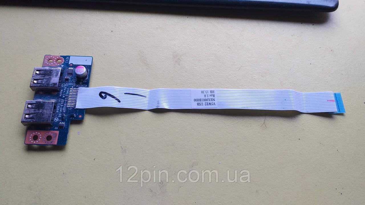 Плата USB Acer E1-570G б.у. оригинал