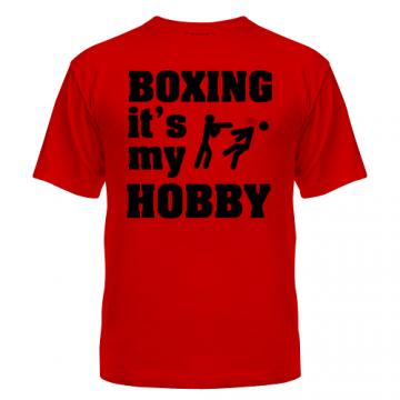 Купить Футболка Бокс — это мое хобби