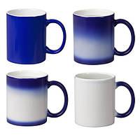 Чашка Хамелеон Синяя под заказ фото картинки надписи логотип