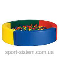 Круглый сухой бассейн 2х2 (в игровую детскую зону)
