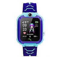 Детские смарт часы Smart Baby Watch Q12 Blue